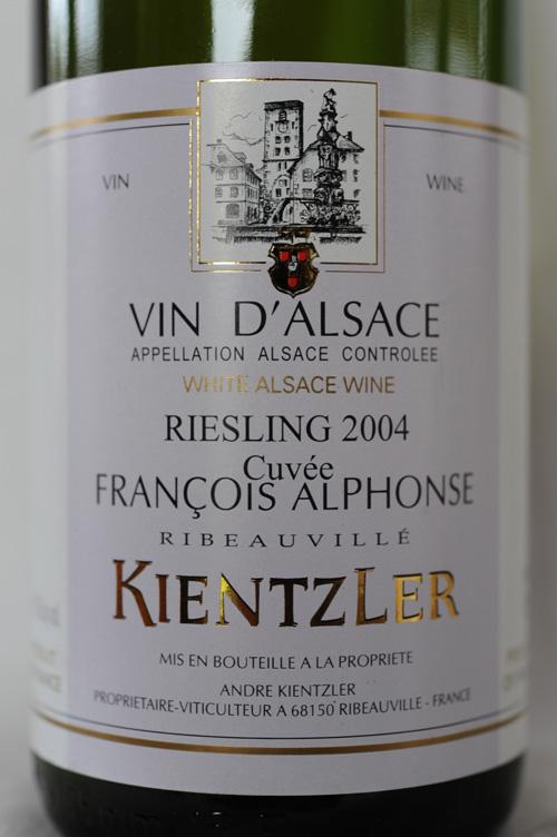 Domaine André Kientzler à Ribeauvillé, 2004