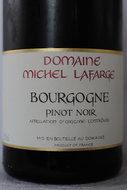 Domaine Michel Lafarge à Volnay, 2007