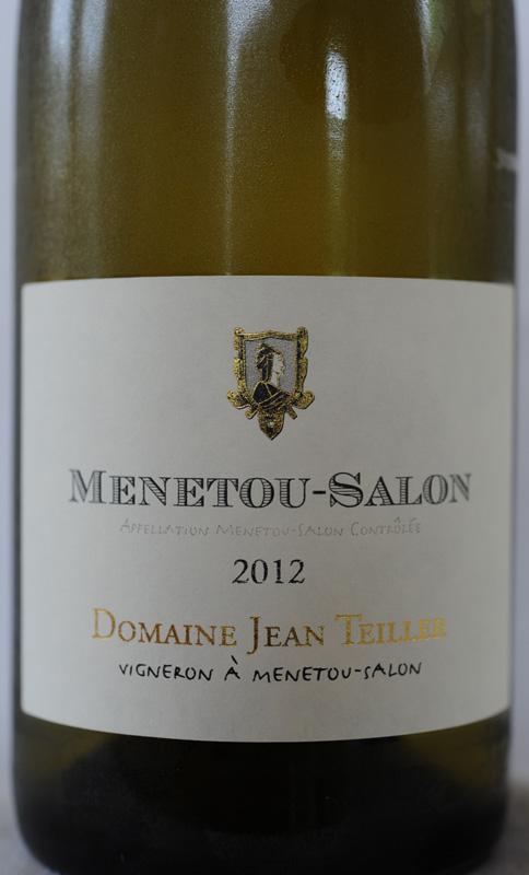Domaine Jean Teiller à Menetou-Salon, 2014