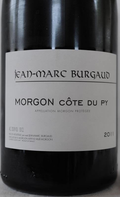 Domaine Jean-Marc Burgaud à Morgon, 2017